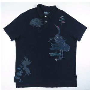 Polo Ralph Lauren Custom Floral Polo Rugby Shirt